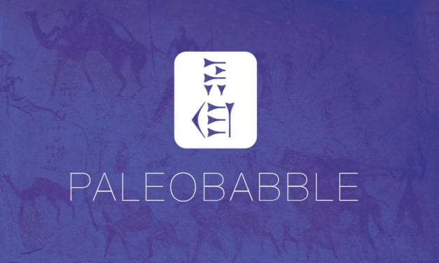 Heads Up on PaleoBabble 2013 and Stats