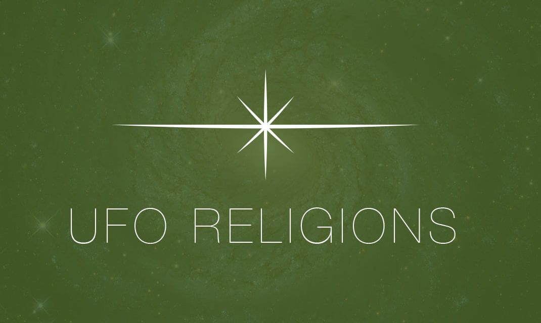 UFO Religions for 2013 and Some Stats