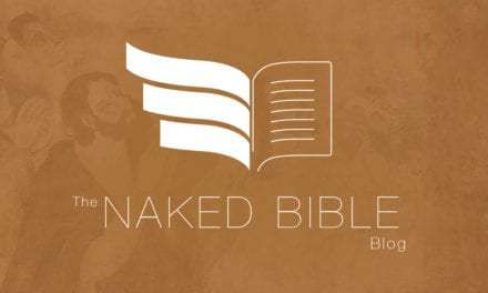 "NAKED BIBLE Makes the First ""Top 50 Biblioblogs"" List"